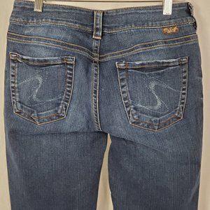 Silver  Suki Jeans Mid Rise Bootcut